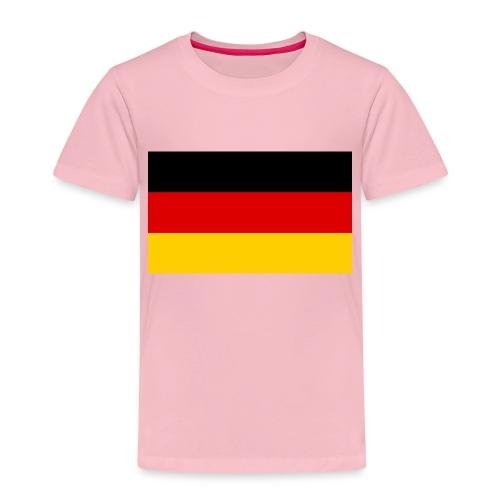 2000px Flag of Germany svg - Kinder Premium T-Shirt