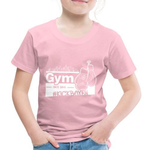 Gym Druckfarbe weiss - Kinder Premium T-Shirt