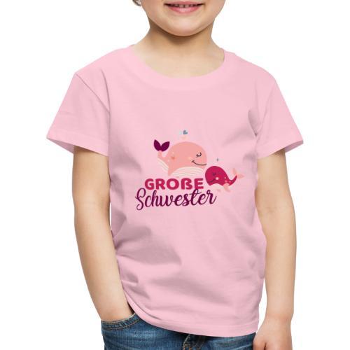 Wale - große Schwester - Kinder Premium T-Shirt