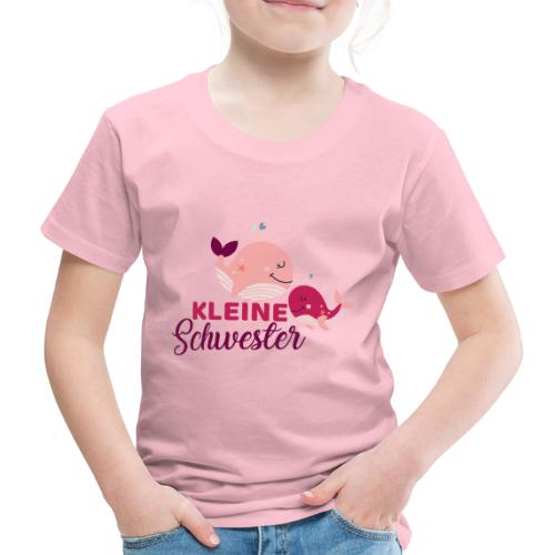 Wale - kleine Schwester - Kinder Premium T-Shirt
