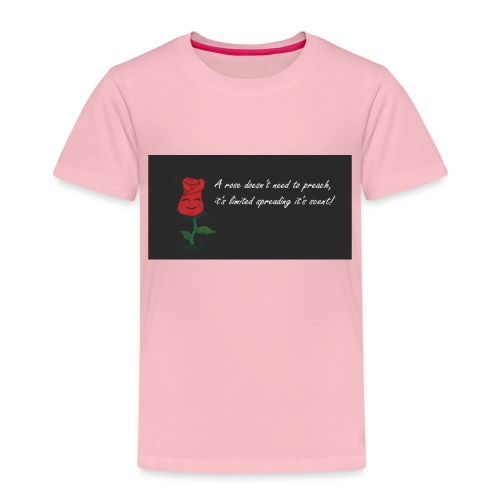 ROSA ROSSA - Maglietta Premium per bambini