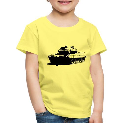 Leopard 2 Kampfpanzer - Stridsvagn 122 - Premium-T-shirt barn