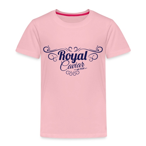Royal Caviar Logo - Kinder Premium T-Shirt
