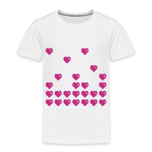 ibisdesigns pixelheart1 vec - Kids' Premium T-Shirt