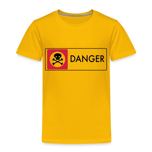 Danger - Kids' Premium T-Shirt