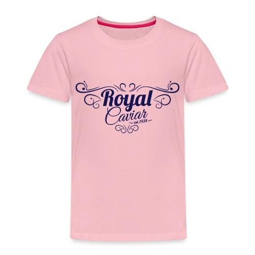 Royal Caviar Logo - Kinder Premium T-Shirt