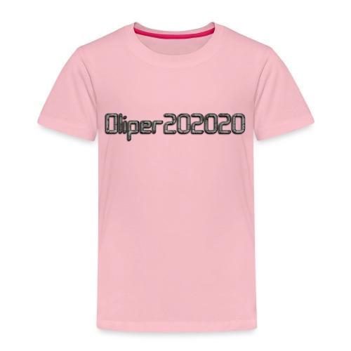 Oliper202020 cracked stone - Børne premium T-shirt