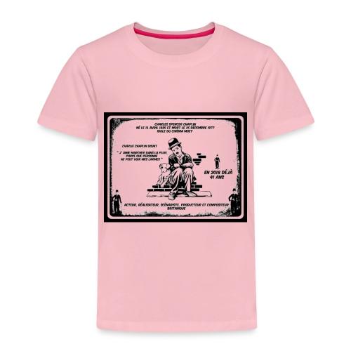 charlie chaplin, annniversaire disparition - T-shirt Premium Enfant