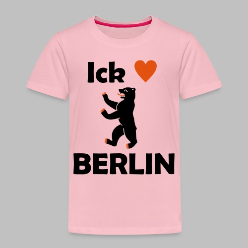 Ick liebe ❤ Berlin - Kinder Premium T-Shirt