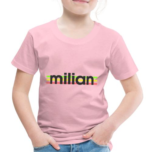 milian gruen gelb rot - Kinder Premium T-Shirt