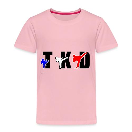 Design Taekwondo - T-shirt Premium Enfant