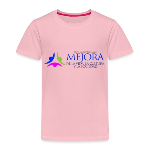 Logo Colorido Alargado - Camiseta premium niño