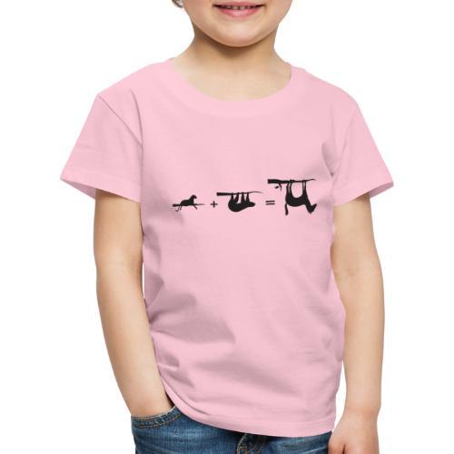 Lui paard Formule Luipaar - Kinderen Premium T-shirt