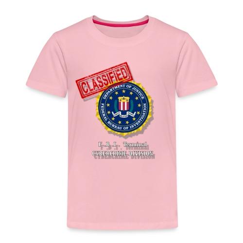F B I - T-shirt Premium Enfant
