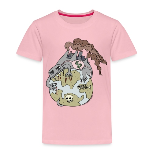 Consuming Ourselves to Death - Kids' Premium T-Shirt