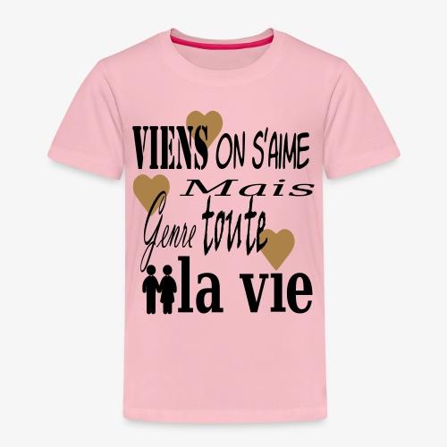 Viens on s'aime2 - T-shirt Premium Enfant