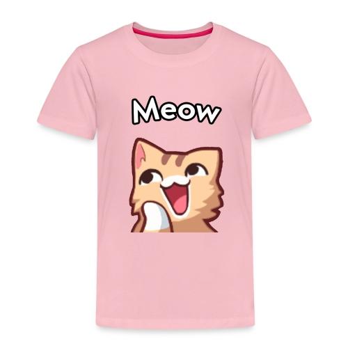 Cute Meow Cat - Kinder Premium T-Shirt