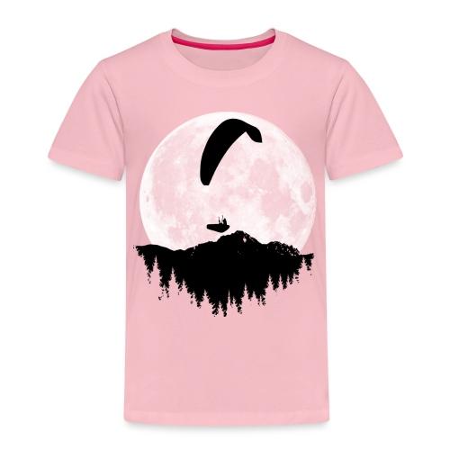 Paralgeiter im Vollmond - Kinder Premium T-Shirt