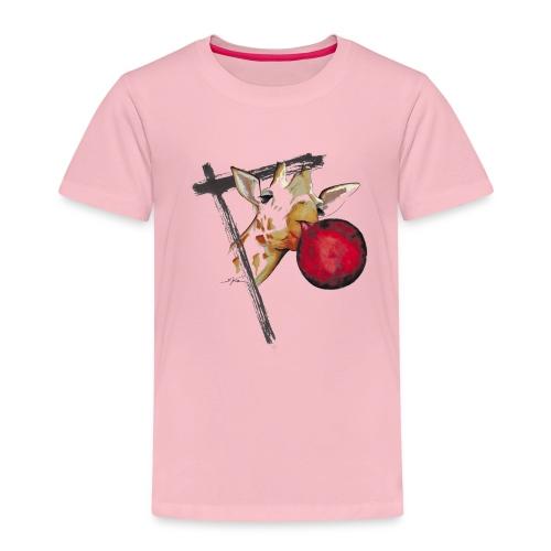 girafe et son ballon - T-shirt Premium Enfant