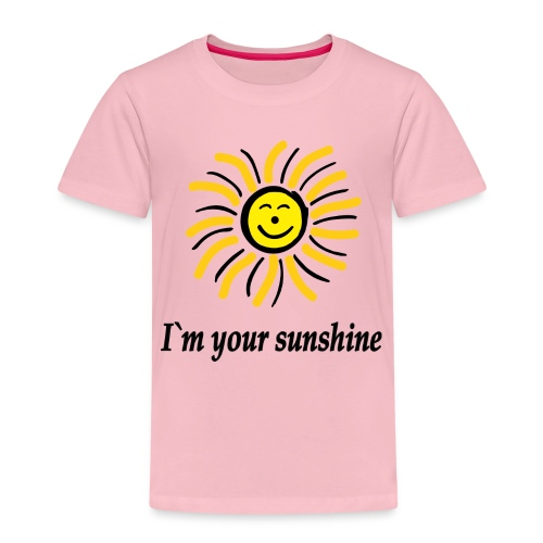 2i m youre sunshine Gelb Top - Kinder Premium T-Shirt