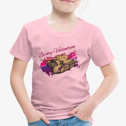 Be my Valentine Tank - Kinder Premium T-Shirt