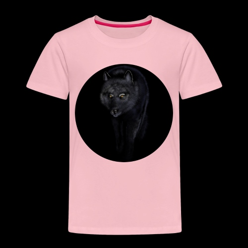 Black Wolf - Kids' Premium T-Shirt