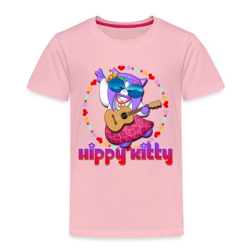 Hippy Kitty - Maglietta Premium per bambini