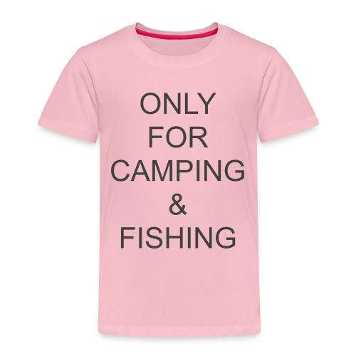 Camping & Fishing - Kids' Premium T-Shirt