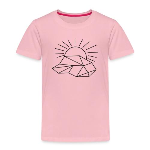 Sonne Wolke - Kinder Premium T-Shirt