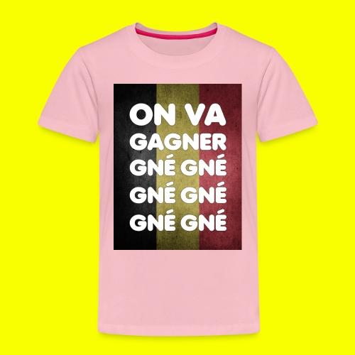 On va gagner gné gné gné gné gné gné - T-shirt Premium Enfant