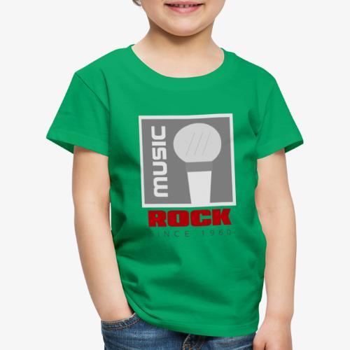 MUSIC 004R - Camiseta premium niño