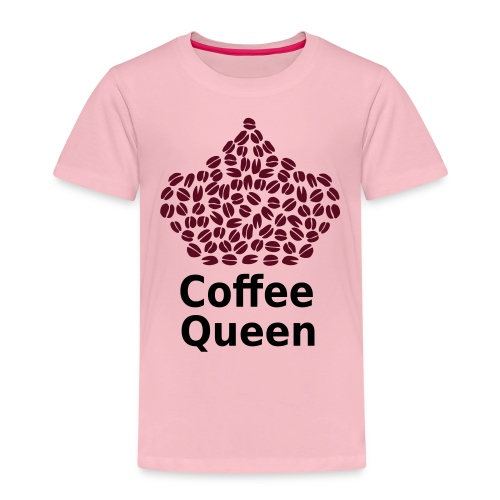 Coffee Queen T-Shirt - Love Coffee T-Shirt - Kids' Premium T-Shirt