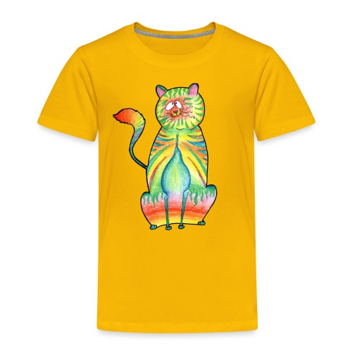 LEO,s CAT - Kinder Premium T-Shirt