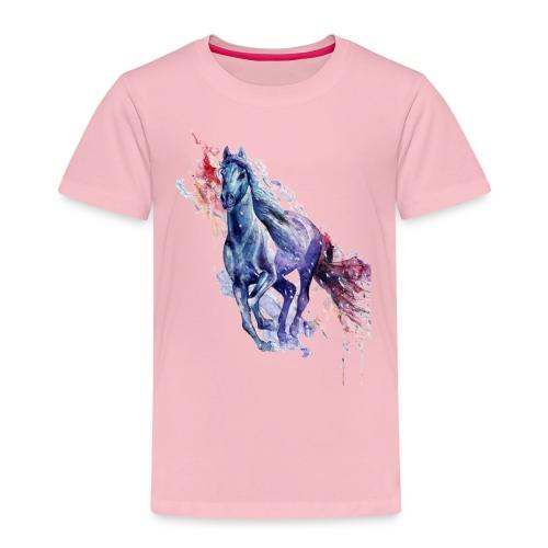 Cute horse shirt - Børne premium T-shirt