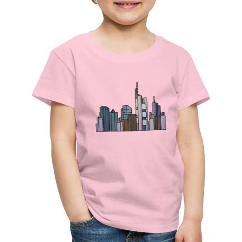 Città di Francoforte c - Maglietta Premium per bambini