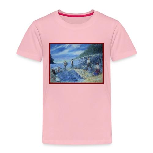 Les cueilleurs de lavande 73x54 2011 - T-shirt Premium Enfant