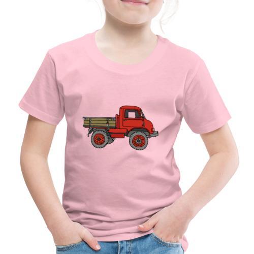 Roter Lastwagen, LKW, Laster - Kinder Premium T-Shirt