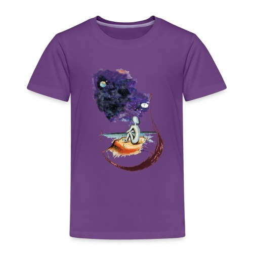 Extraterrestre en contemplation - T-shirt Premium Enfant
