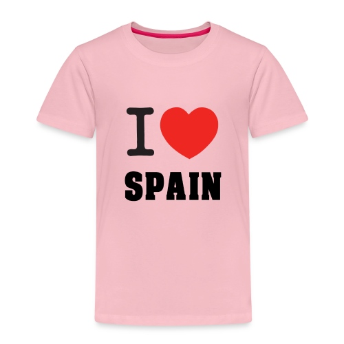 I love spain - Camiseta premium niño