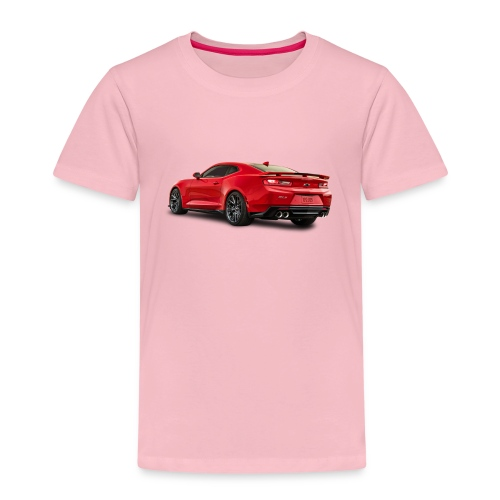 Red Camaro ZL1 - Premium-T-shirt barn