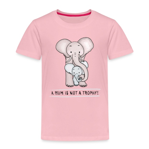 Elephant Baby with Mom - Kids' Premium T-Shirt