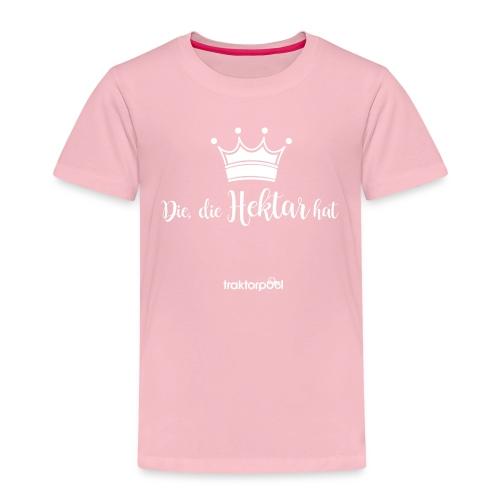 Die, die Hektar hat - Kinder Premium T-Shirt