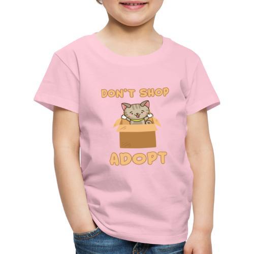 ADOBT DONT SHOP - Adoptieren statt kaufen - Kinder Premium T-Shirt