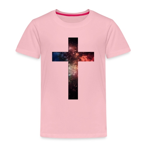 Cross Galaxy - Kinderen Premium T-shirt