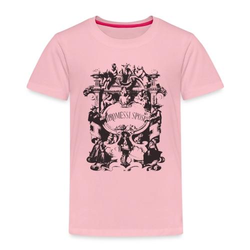 GoClassic   I Promessi Sposi - Maglietta Premium per bambini