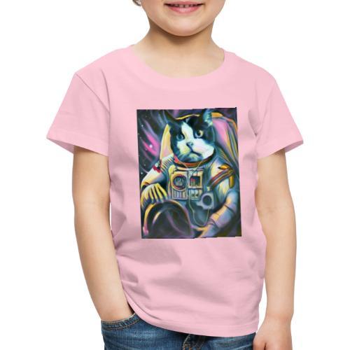 Gato Astronauta - Camiseta premium niño