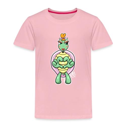 Girlie Turtle/ Schildkröte - Kinder Premium T-Shirt
