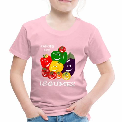 I love vegetables - Kids' Premium T-Shirt
