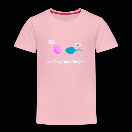 A Coral Love Story - Kids' Premium T-Shirt