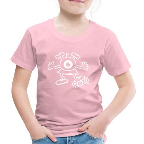 Rozy Full (White) - T-shirt Premium Enfant